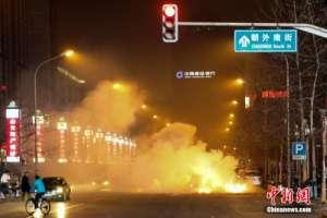 北京市环保局:除夕夜全市PM2.5浓度一度超过600