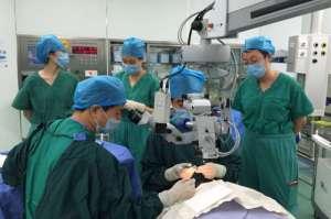 北京佑安医院眼科开展首例眼角膜移植手术