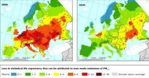 PM2.5为健康隐形杀手 低标准恐让国人减寿4年